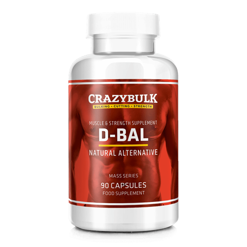 CrazyBulk D-Bal Pills Review - Er det sikker dbol (Dianabol) alternativ?